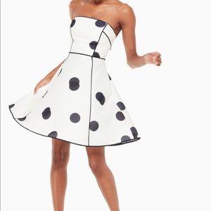 18a6d113c299 kate spade Dresses - Kate Spade dee dot bev dress NWT's blk/w stunning